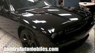 2014 Phantom Black Dodge Challenger Sinister Landry Automobiles Dodge Laval Montreal