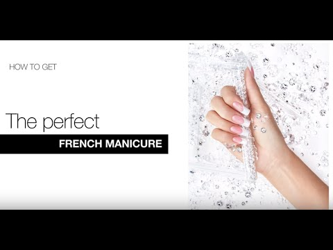 How To Get the Perfect French Manicure with EzFlow's HD Acrylics (Tutorial)