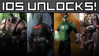 Repeat youtube video FREE INJUSTICE IOS UNLOCKS! - From PapaBehr