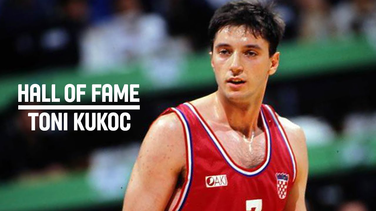 Toni Kukoč   Hall of Fame Class 2017 - YouTube