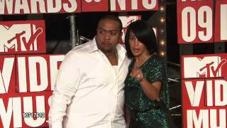 Timbaland and Monique at the VMA 2009