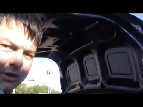 Обшивка крышки багажника на Лада Гранта
