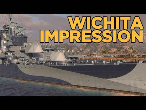 Wichita Impression - World of Warships