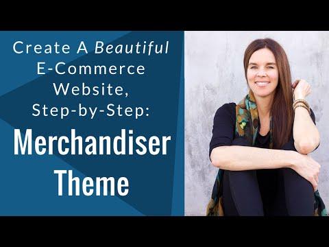 How To Create A GORGEOUS E-Commerce Website - Merchandiser Theme - Tutorial 2016
