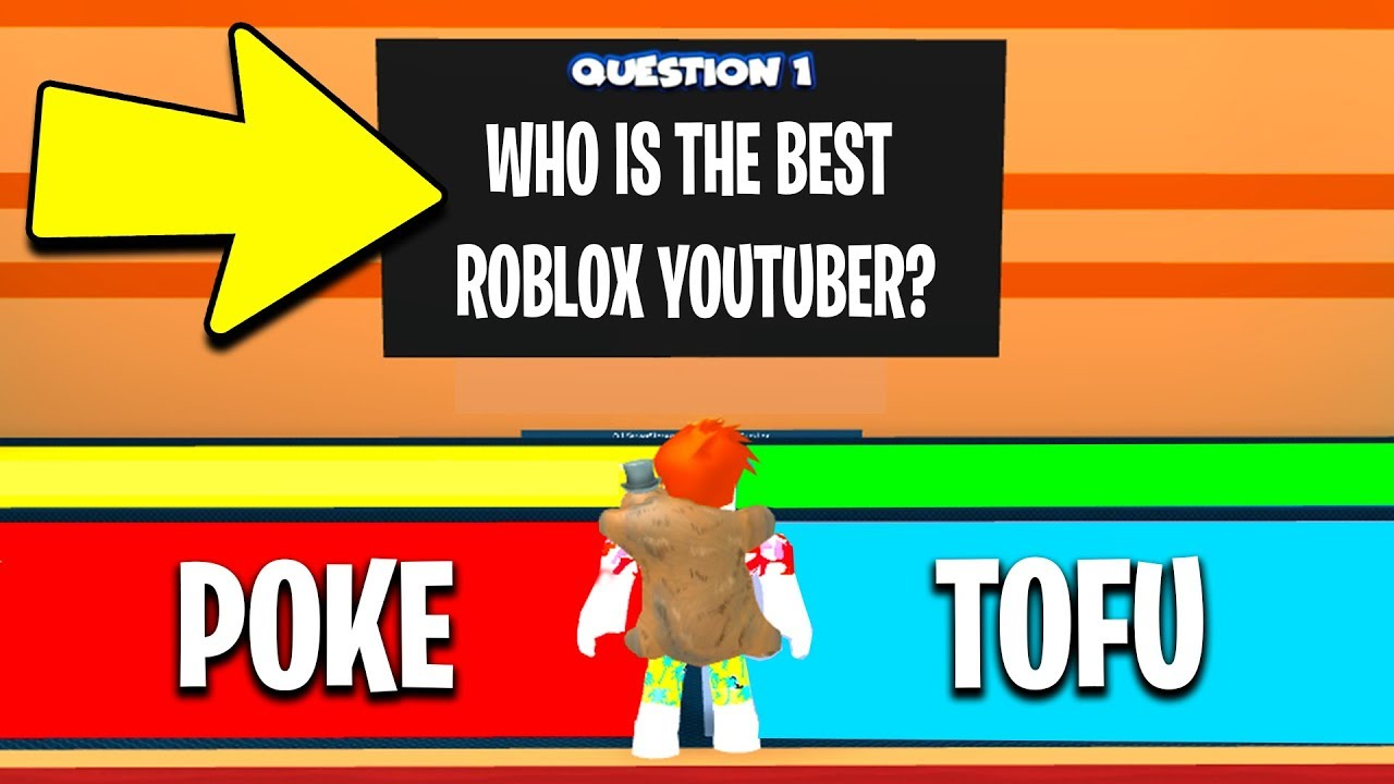 Tofuu Roblox Quiz I Spent Robux To Make Custom Questions Roblox Clueless Youtube