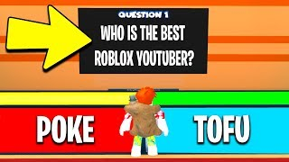 I spent ROBUX to make CUSTOM QUESTIONS.. (Roblox Clueless)