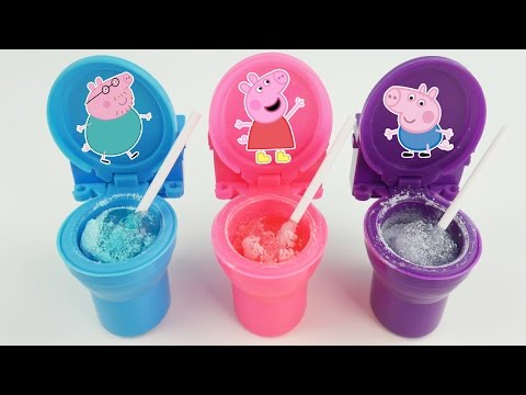 Candy Toilet Potty Slime Surprise Toys Fart Noise Putty with Disney Princess, PJ Masks, Peppa Pig