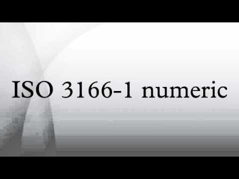 ISO 3166-1 numeric