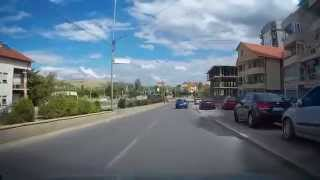 Driving trough Kumanovo