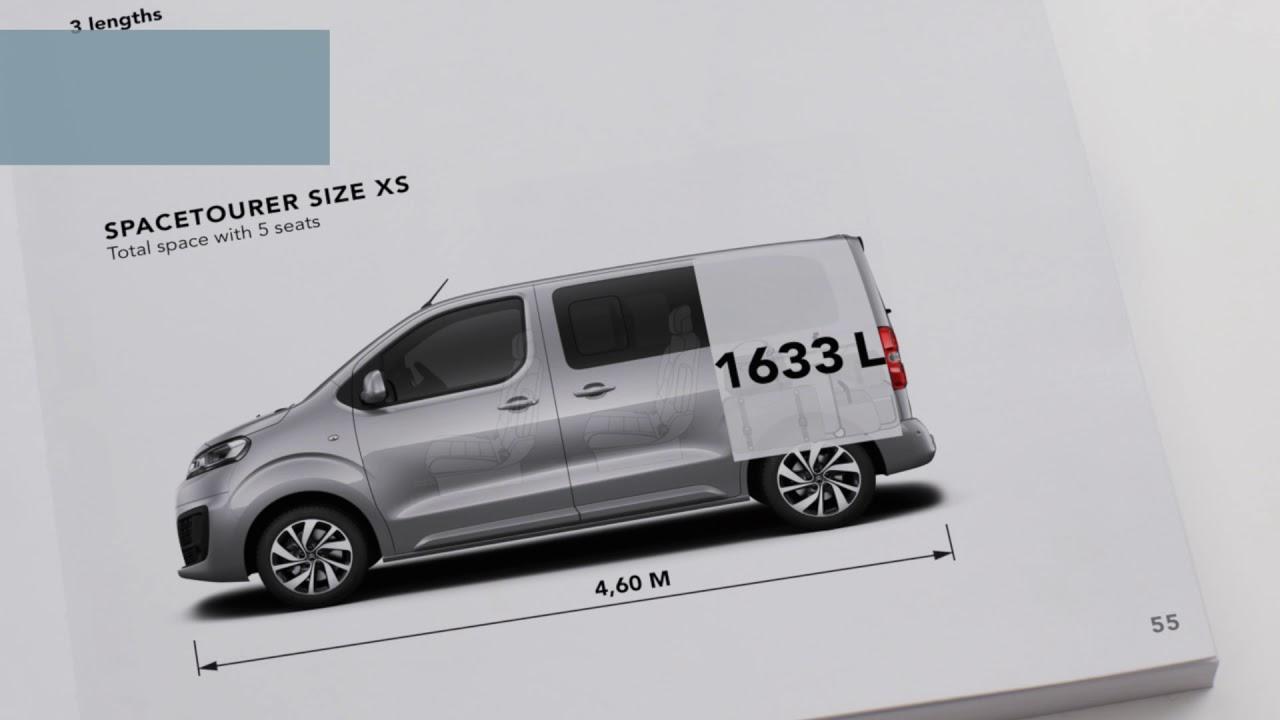0dded82696 Citroën SpaceTourer disponível em 3 dimensões  XS
