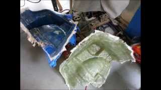 Building A New Trunk For My Scion Tc - Part 1: Fiberglass Sub Enclosures