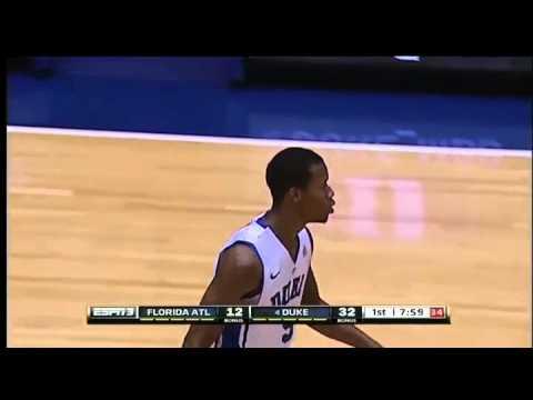 11/15/2013 Duke vs Florida Atlantic 1st Half