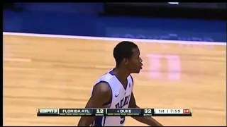 11/15/2013 Duke vs Florida Atlantic 1st Half