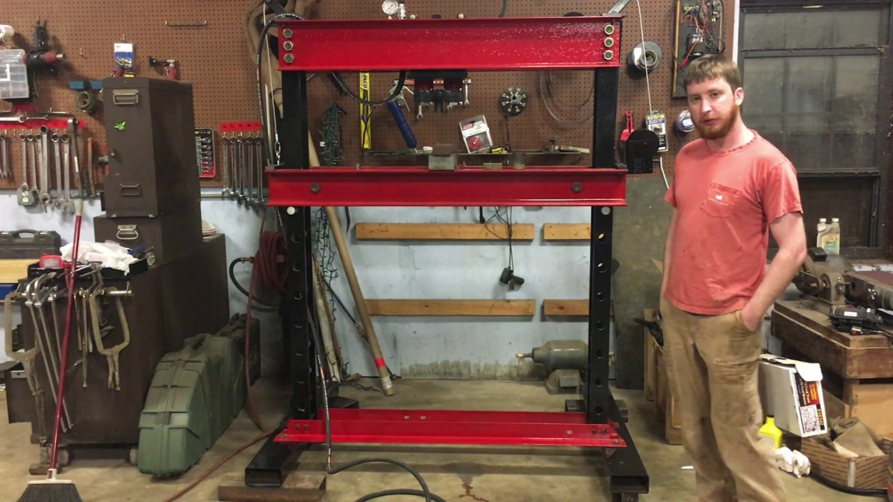 How to Build a Hydraulic Press  YouTube