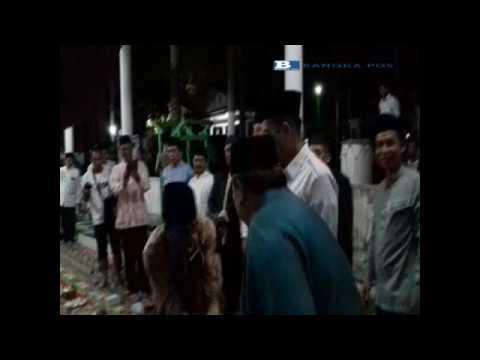 Gema Takbir dan Festival Bedug  di Alun alun Taman Merdeka Pangkalpinang