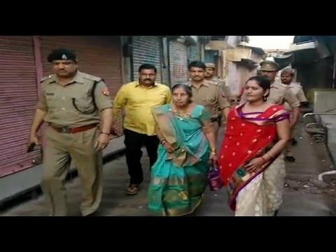 PM Modi's wifeoffers prayers atShiva temple in Mathura