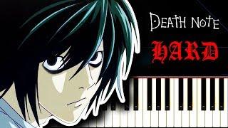 DEATH NOTE Season 1 OP - Piano Tutorial