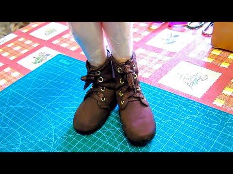 Как сделать Ботиночки