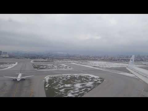 Adria Airways - landing at Sofia International Airport