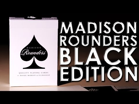 Deck Review - Madison Rounder's Black Edition Playing Cards