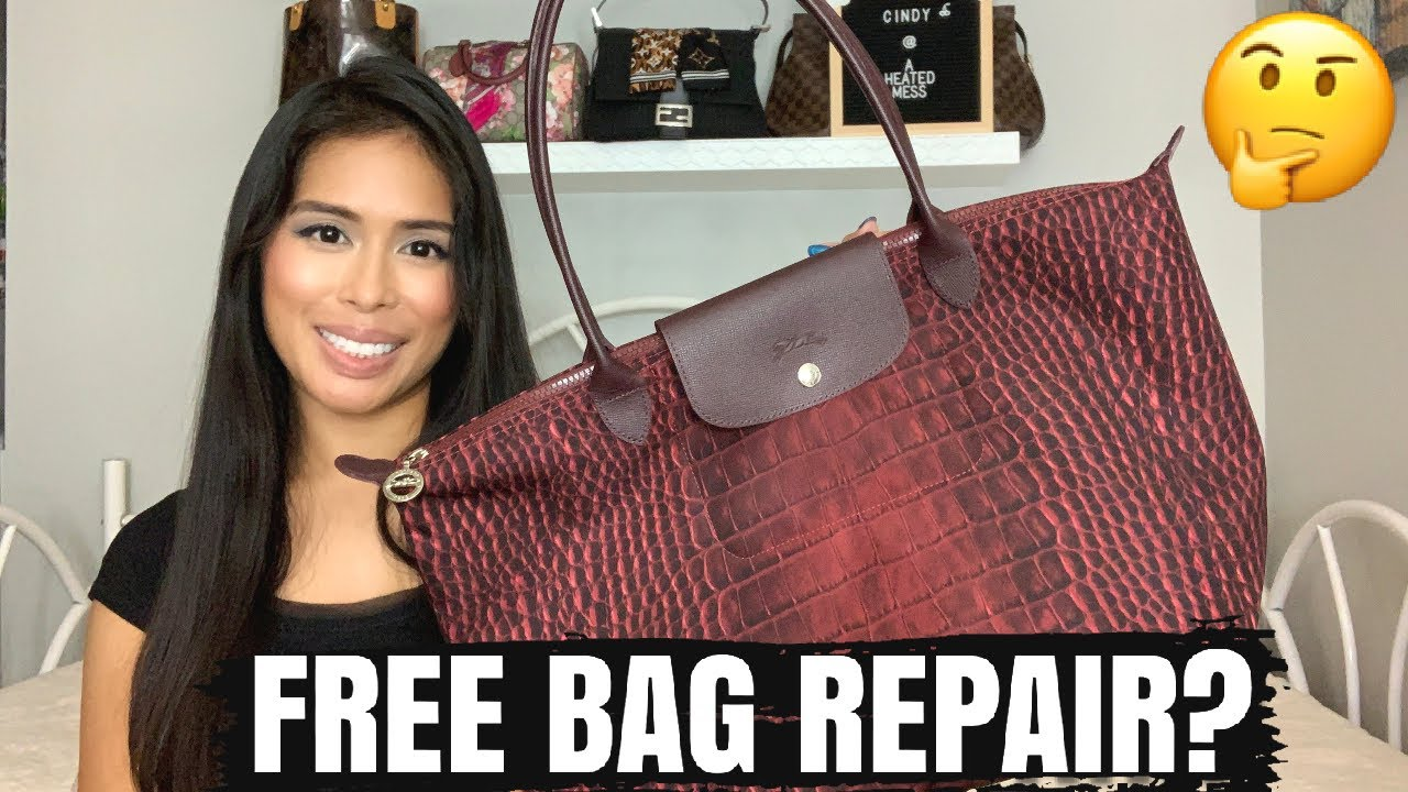 How To Fix Your Luxury Bag For Free: Longchamp Le Pliage Tote Bag Warranty & Repair Process