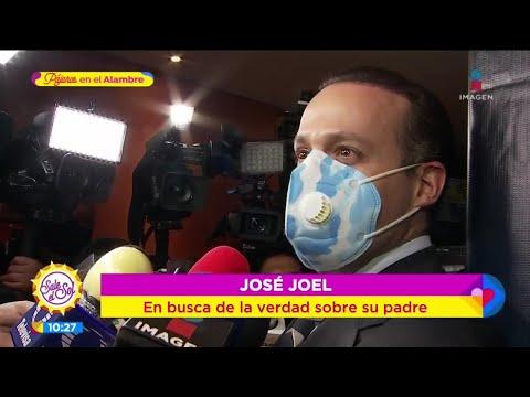 José Joel afirma que no se han cobrado las regalías de José José   Sale el Sol