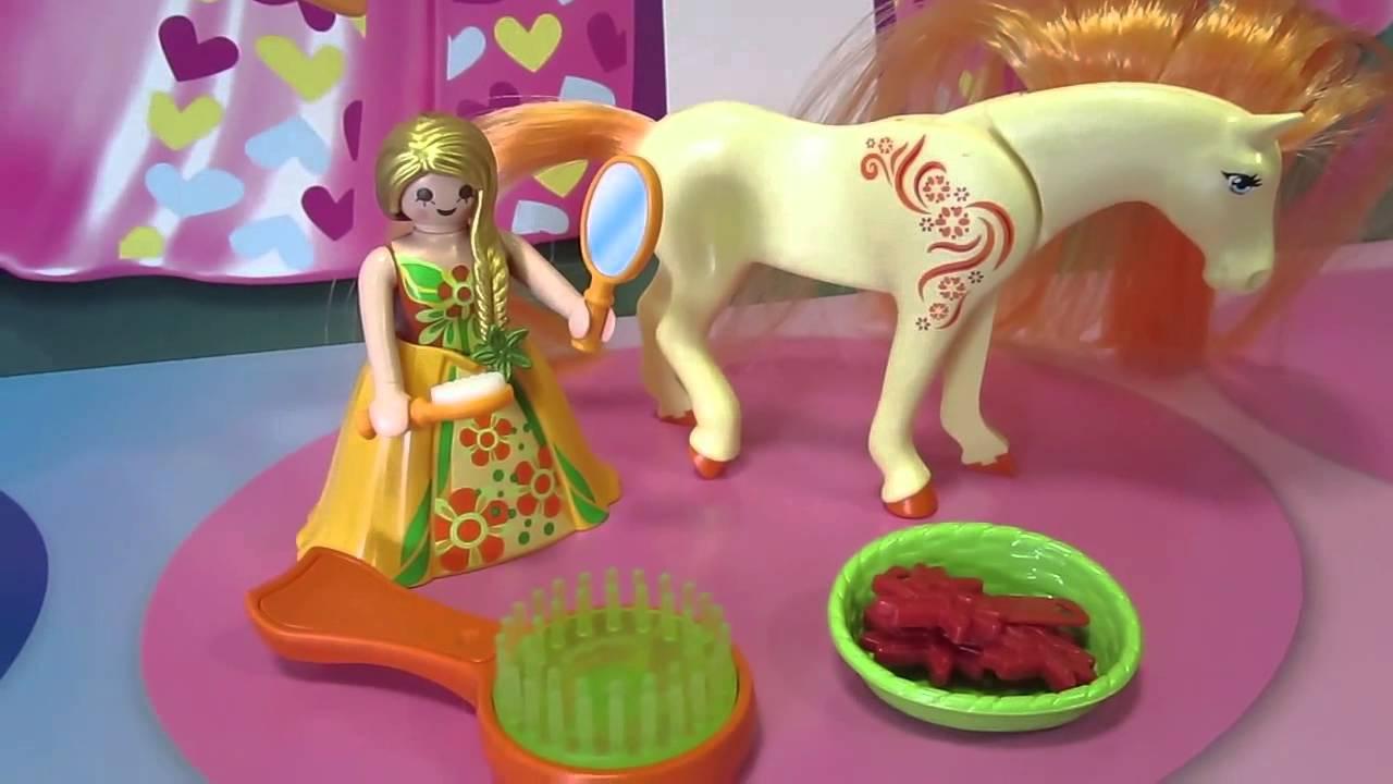 Playmobil princess sunny 6168 zum k mmen und frisieren - Pferde playmobil ...