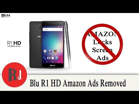Amazon Blu R1 HD Simple Flash to Remove ads and OTA