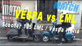 Scooter 125 LML India vs Vespa Italia !