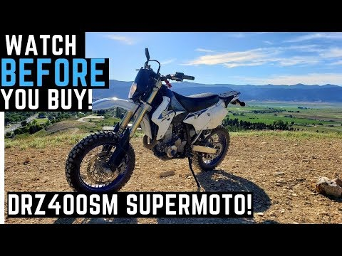 Watch BEFORE Buying a DRZ SuperMoto! DRZ400SM Suzuki DRZ Exploring Utah, Trails, Adventures!