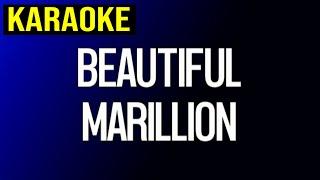 Marillion - Beautiful (Karaoke)