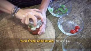 How to Make: Caprese Salad Jars