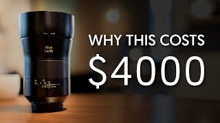 Why It's Expensive - $4000 Zeiss Otus 55mm F1.4 Lens (Ep. 1)