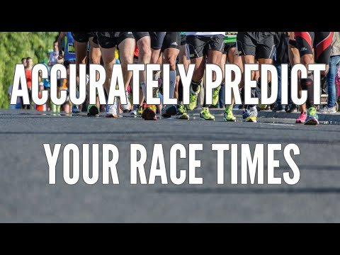 Accurately Predict Your Race Times