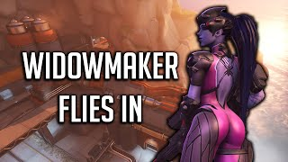WIDOWMAKERS MOMENT! 360 Trickshot, Sentry Strategy Disaster - Overwatch