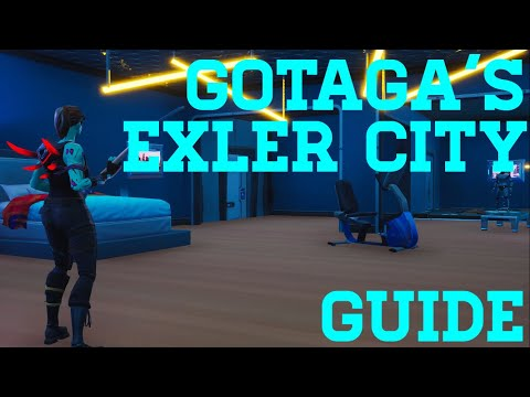 How To Complete Gotagas Trial Qualifier Exler City - Fortnite Creative Guide