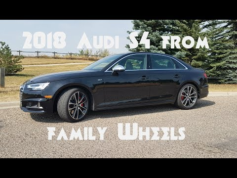 2018 Audi S4 review from Family Wheels