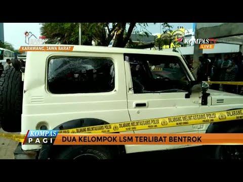 LSM di Karawang Bentrok, Enam Mobil Rusak