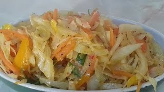 Jamaican Stir Fried Cabbage Request | Recipes By Chef Ricardo
