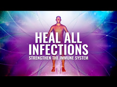 Heal all Infections ~ Strengthen the Immune System ~ Emotional & Physical Detox, Binaural Beats.