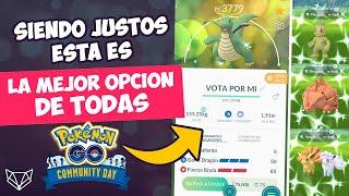 NI SE TE OCURRA VOTAR PARA EL COMMUNITY DAY SIN ANTES VER ESTE VIDEO - Pokémon GO [Neludia]