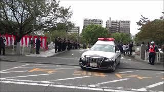 熊本県警察中央警察署 発足式 パトロール出発