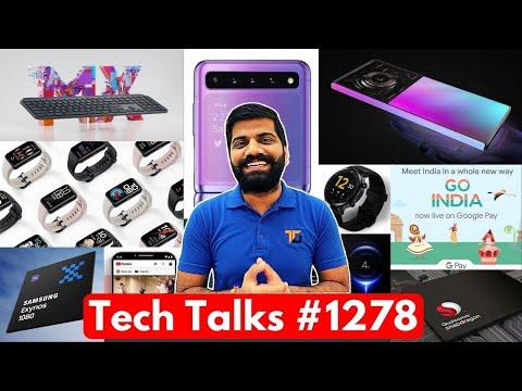 Tech Talks #1278 – Xiaomi Exynos Deal, 200W Charging, Galaxy F12 Leaks, GO India Game, Apple Leaks