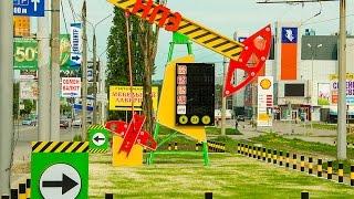 Изготовление необычной стелы для АЗС НПЗ в Харькове(Пожалуй это самый необычный объект который мы когда либо делали. Самая необычная стела азс имитирующая..., 2015-06-24T11:31:17.000Z)
