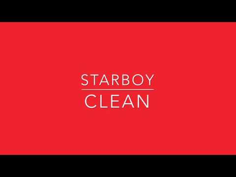 The Weeknd - Starboy (Clean) (My Website Is In The Description)