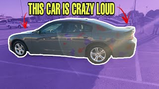 THE LOUDEST V6 DODGE CHARGER EVER