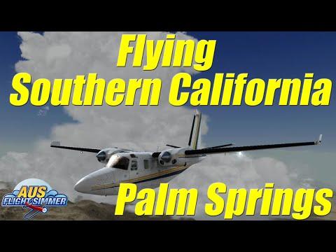 Palm Springs   Flying Southern California   Carenado Shrike 500s