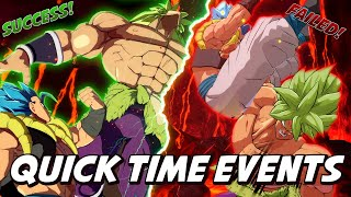 DBFZ: Dramatic Finishes but they're ridiculous Quick Time Events