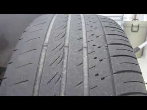2011 Toyota Sienna Excessive Tire Wear Problem Youtube