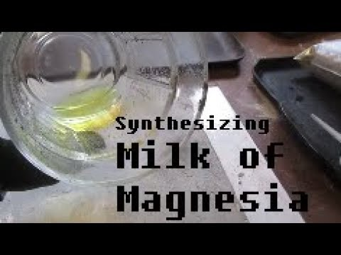 Synthesizing Magnesium Hydroxide